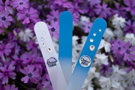 Swarovski skleněné pilníky v jarních barvách